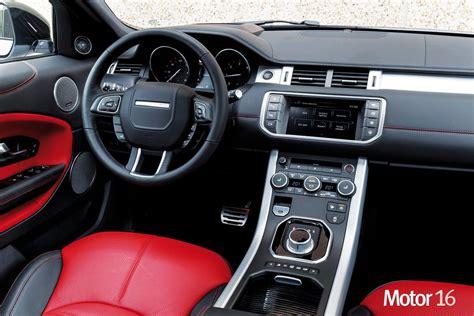 evoque al volante al volante range rover evoque 2016 interiores motor 16