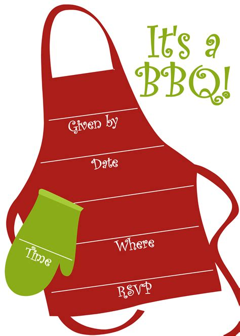 Bbq Party Invitation Templates Free Clipart Panda Free Clipart Images Free Bbq Invitation Template