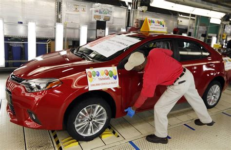toyota foreign car toyota plant puts foreign car makers on path to pass