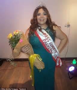 miss paraguay gordita paraguay crowns 209lb winner of plus size miss gordita