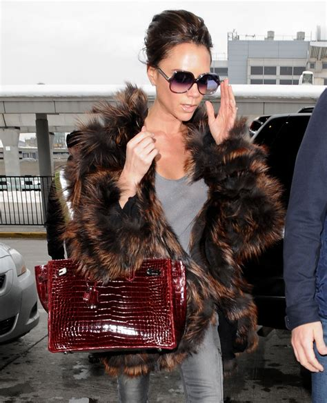 Ayyye Posh Spice And The Hermes by The Many Bags Of Beckham Purseblog