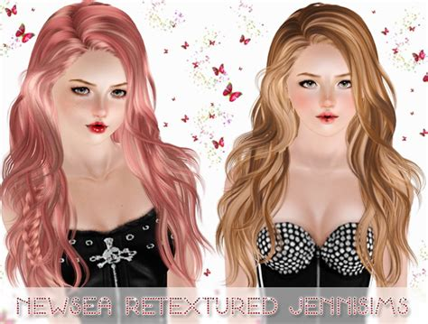 sims 3 customcontent hair colours newsea s titanium hairstyle retextured by jenni sims