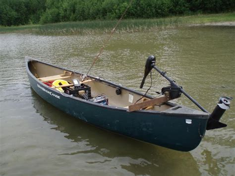 canoes in canoe fishing rig up pick heavy alberta outdoorsmen