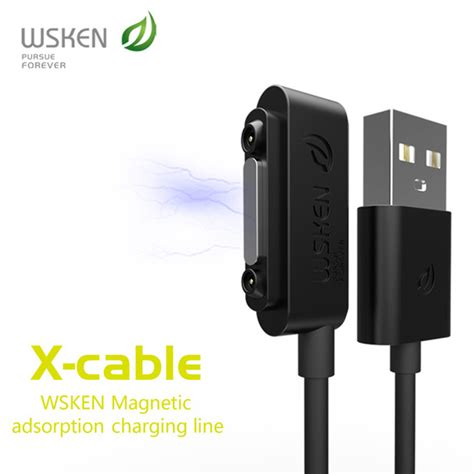 Kabel Data Magnetic Sony wsken kabel charger magnetic for sony xperia z3 z2 z1