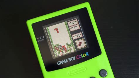 gameboy color boy color finally modded with backlight and it looks