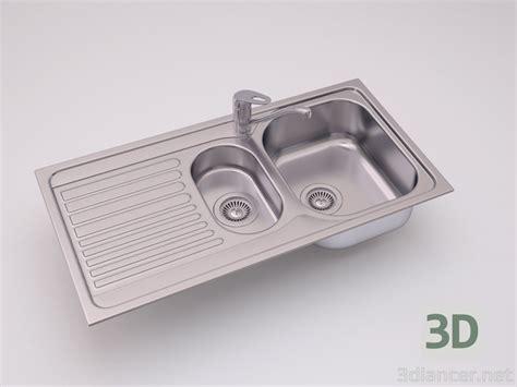 Sink Blanco Tipo 6s Basic 3d model blanco tipo 6s basic kitchen sink to 3dlancer net
