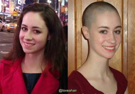 after girls headshave 17 best images about buzzed or bald women on pinterest