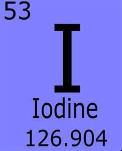 Iodine 131 Protons Neutrons Electrons Iodine
