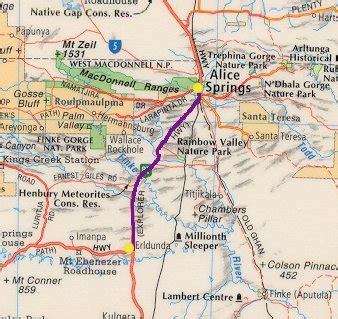 erldunda  alice springs travelling australia