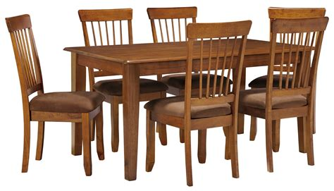 berringer dining table price furniture berringer 7 36x60 table chair set