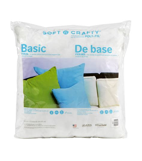 Joanns Pillow Forms by Soft N Crafty Basic Pillow 24 Quot X24 Quot Jo