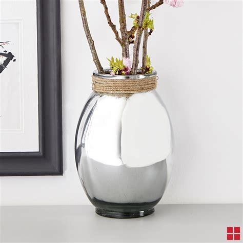 Mirror Glass Vase diy mirror glass vase