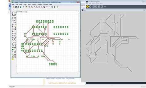 Drawing G Code by Cnc G Code Interpreter Using Processing