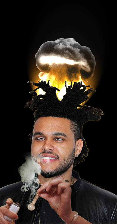 what is the weeknds hairstyle psbattle the weeknd s hair photoshopbattles