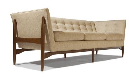 up sofa button up sofa by milo baughman from thayer coggin