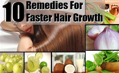 home remedies for faster hair growth treatments