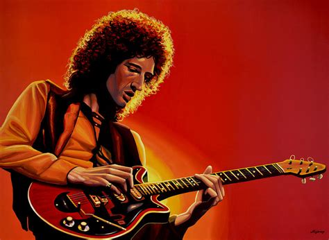 brian may of painting painting by paul meijering