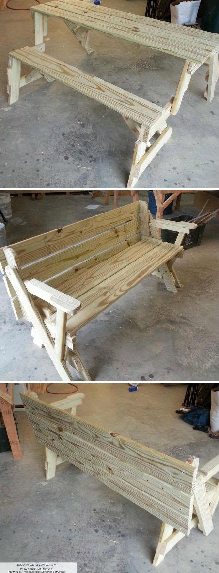folding bench and picnic table combo folding bench and picnic table combo crafts tips and
