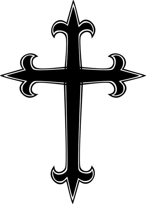 decorated crosses clip art clipart