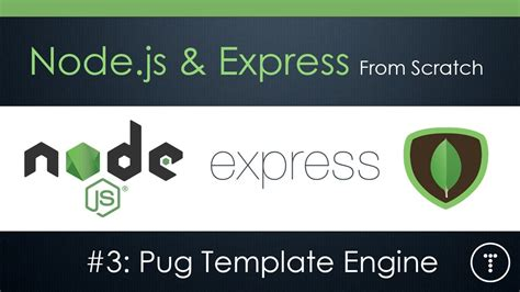 express template engines node js express from scratch part 3 pug template