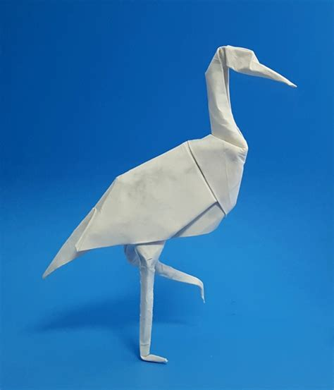 Stork Origami - origami for the enthusiast by montroll book review