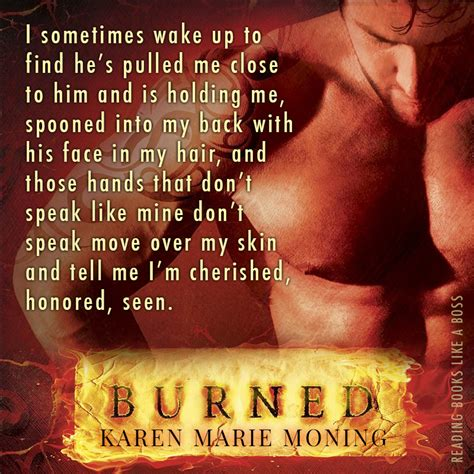 Book Review Amp Conversation Burned By Karen Marie Moning