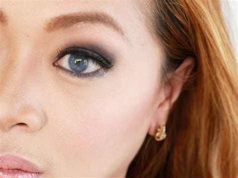 Eyeshadow Blue smokey eye makeup for blue you mugeek vidalondon