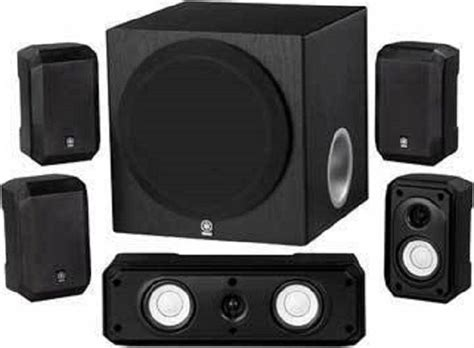 yamaha ns spbl  channel home theater speaker system