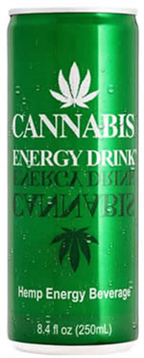Cannabis Light Drink by Caffeine In Cannabis Energy Drink