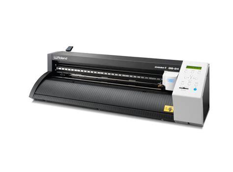 Cutting Roland roland gs 24 camm 1 servo desktop vinyl cutter plotter