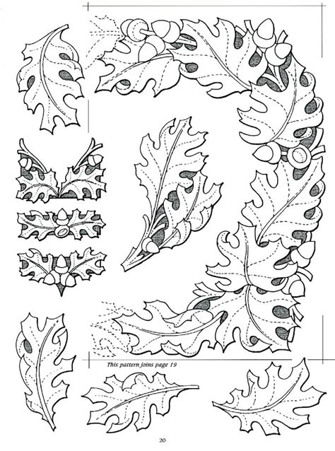 oak leaf pattern leather 1000 images about leather patterns on pinterest wallet