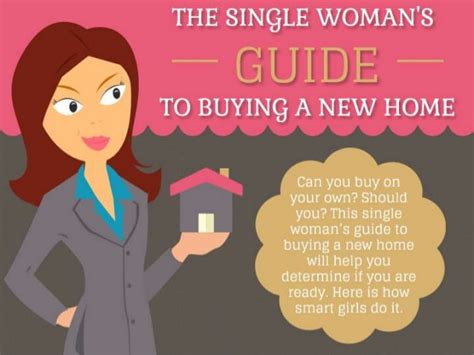 guide to buying a house the single woman s guide to buying a new home