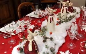 Attractive Set De Table Pour Noel A Faire Soi Meme #4: Photo-table-idée-déco-de-table-de-Noël-rouge-et-or-12.jpg