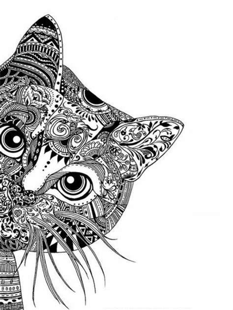 tattoo mandala zum ausmalen ausmalbilder muster katzen kunst pinterest mandala