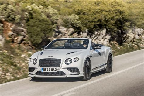 2017 white bentley convertible 2017 bentley continental supersports first drive review