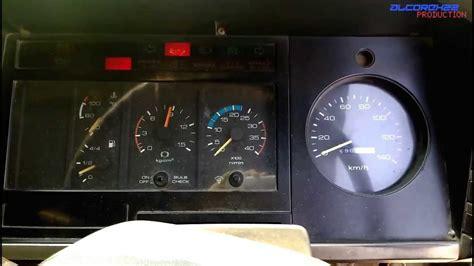 Isuzu Speedometer Not Working 1992 Isuzu Forward Fsr11 Startup W S Talk On Exhaust