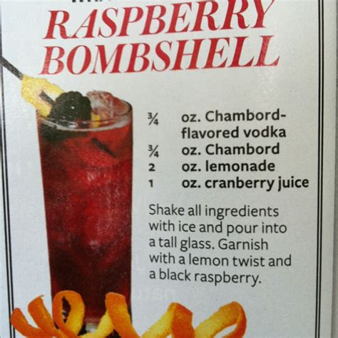 Happy Hour Chambord Walk by Chambord Lemonade Cranberry Drinks Happy Hour