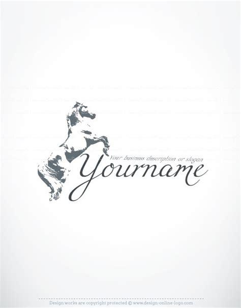 free logo design horse luxury horse logo free business card
