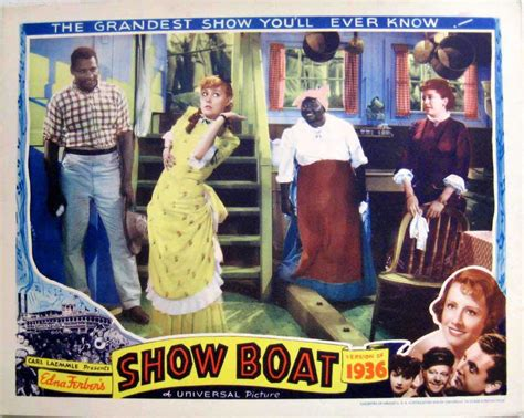 show boat 1936 quot show boat of 1936 quot movie poster quot show boat quot movie poster
