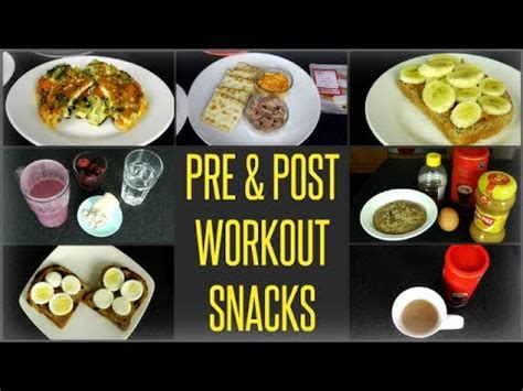 7 Great Pre Workout Snacks by 10 Best Pre Post Workout Meals Snacks