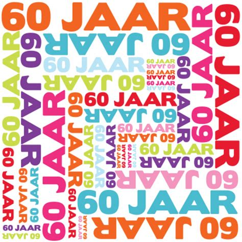 60 jaar verjaardagswensen 60 jaar typografie jpg 414 215 414 60e verjaardag