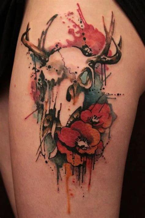 deer skull tattoos lovetoknow 1000 ideas about deer skull tattoos on deer