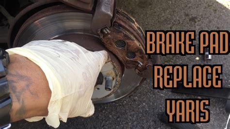 Brake Pad Yaris brake pad change toyota yaris