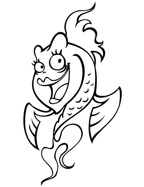coloring pages cute fish cute fish coloring pages coloring home
