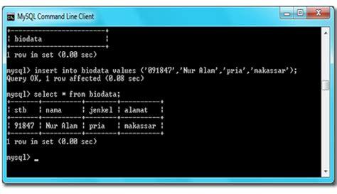 cara membuat database menggunakan mysql command line belajar bersama dengan soniya cara membuat database