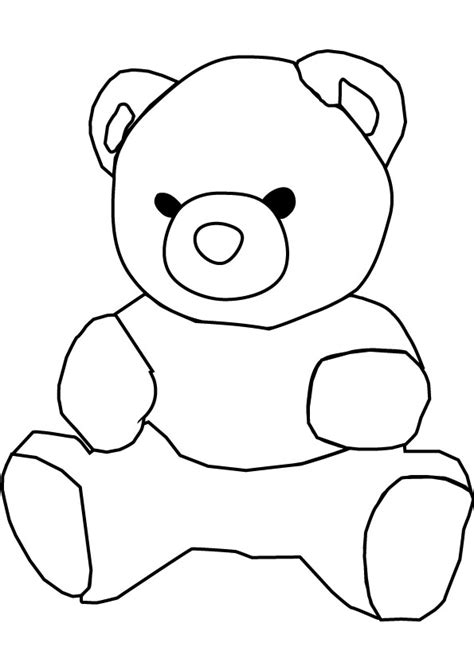 Teddy Bear Coloring Pages Animal Pictures Free Teddy Coloring Pages