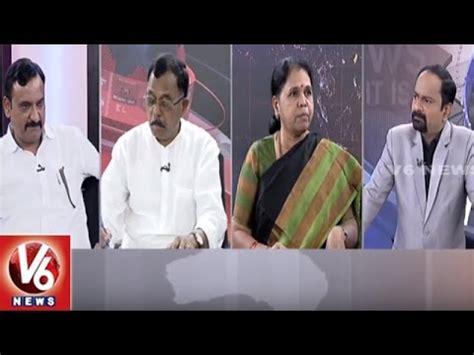 special debate on pawan kalyan karimnagar tour good morning special debate cm kcr on asha workers pawan kalyan on