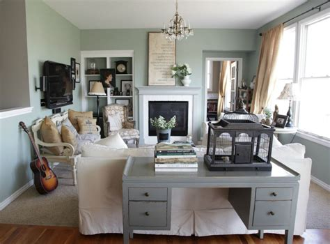 arranging furniture  small living room working