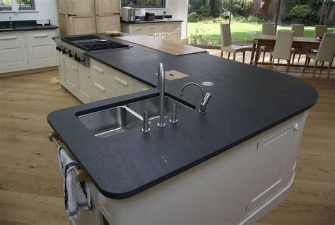 arbeitsplatten schiefer 25 best ideas about slate worktops on wood