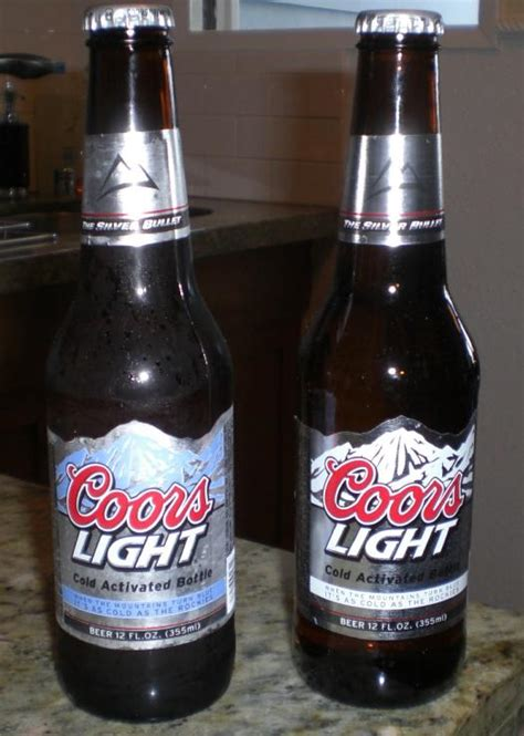 coors light cold hard coors light s cold activated bottle drinkhacker